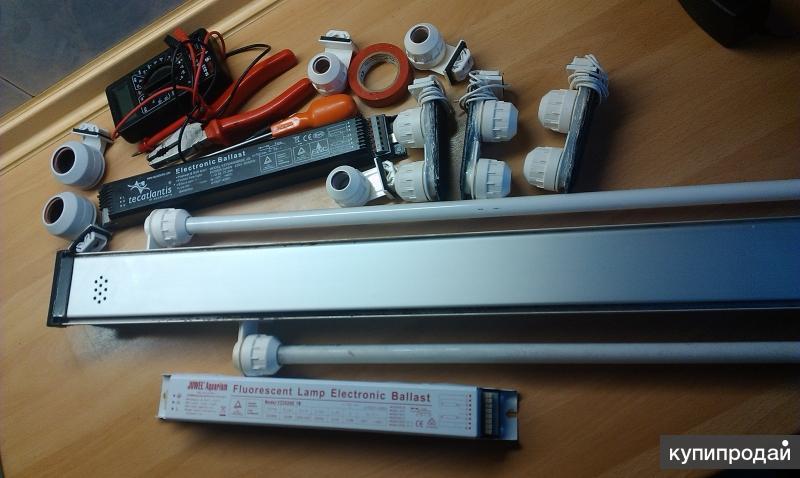 Аквариумные светильники Aquatlantis ремонт