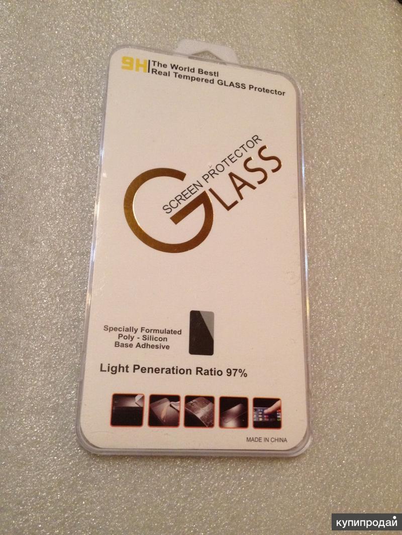 iPhone 6 plus white-Защитное стекло white