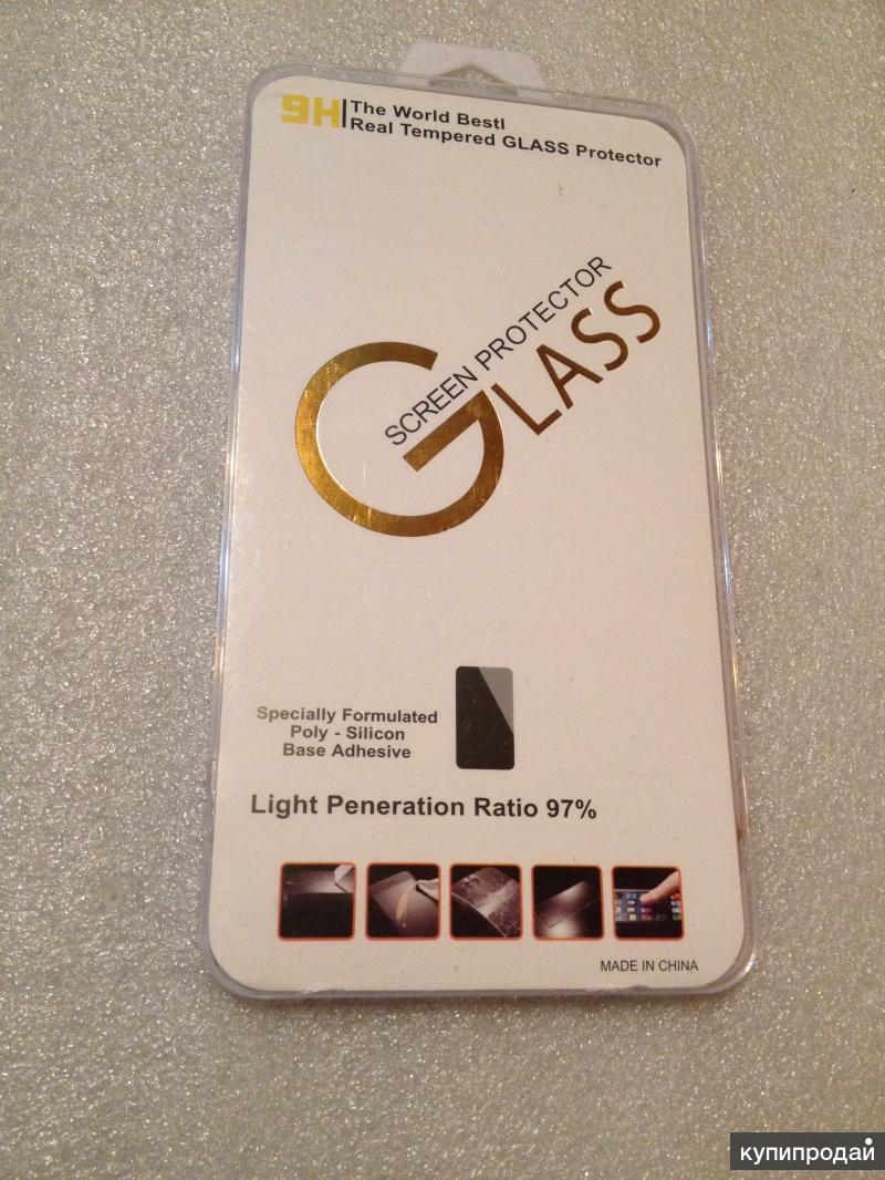 iPhone 6 plus черный-Стекло защитное черное