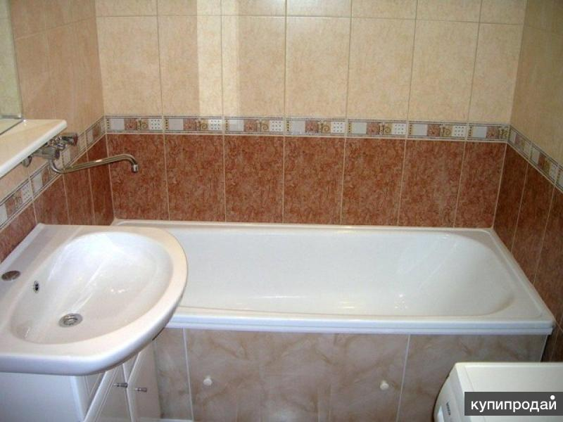 Недорогой ремонт в ванне