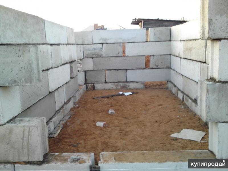 Фундамент под гараж своими руками из блоков