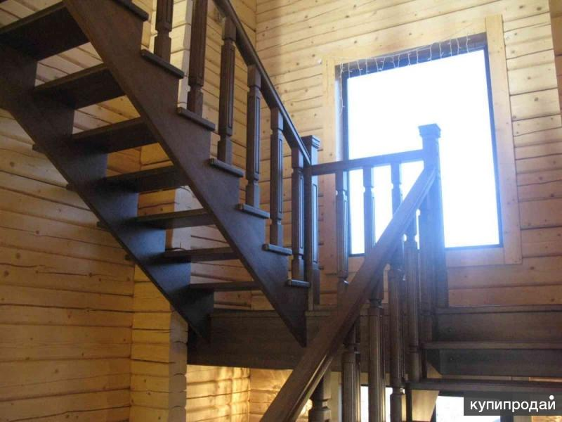 Лестницы на второй этаж п-образные своими руками