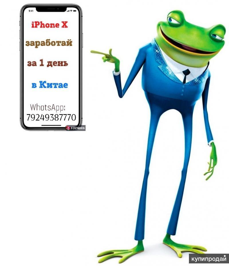 iPhone X за 1 день работы в Китае !