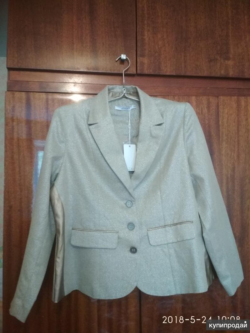 Новый пиджак 46-48 размера