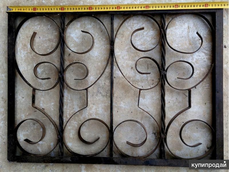 Продам декоративные металлические решетки и ограды
