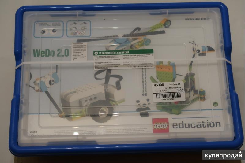 Конструктор Lego Education WeDo 2.0 45300