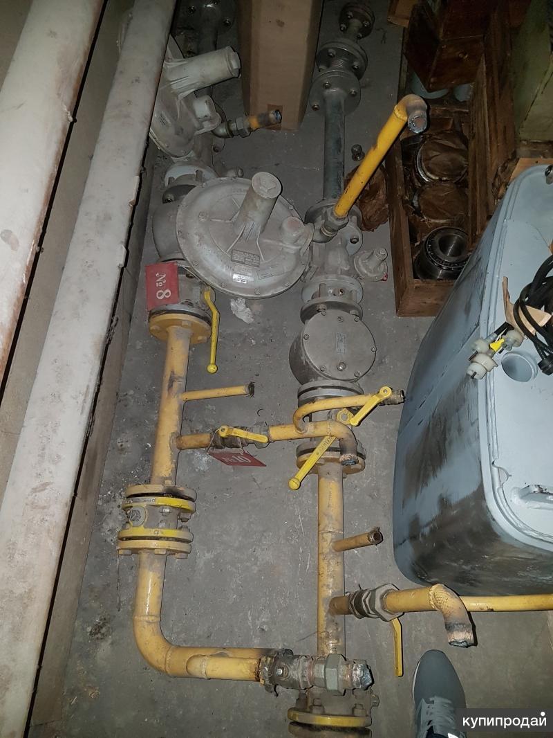 Газовая рампа с газовым регулятором