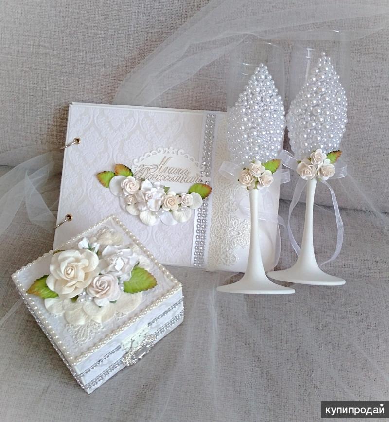 Продам готовые свадебные аксессуары ручной работы