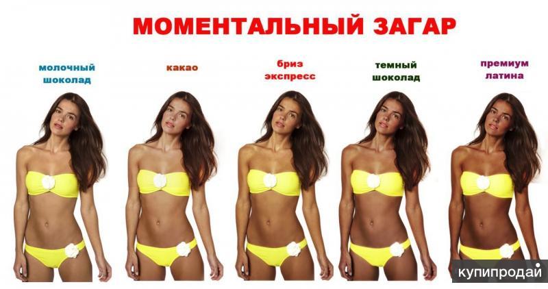 Моментальный загар Москва