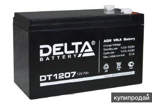 Аккумуляторная батарея 2.1 DELTA DT-1207