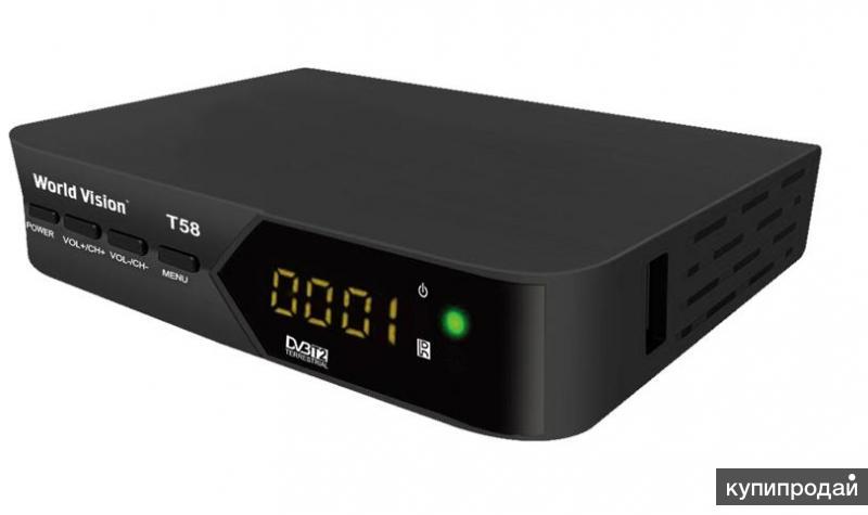 Цифровой  ТВ-ресивер WORLD VISION T58