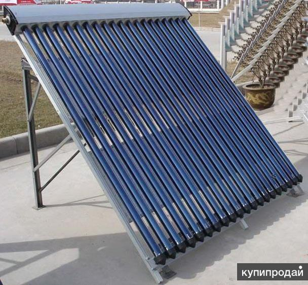 Солнечные коллекторы для обогрева дома