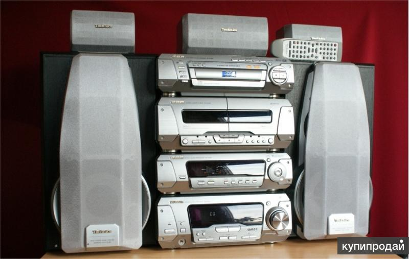Tоповый Technics SC-DV290E с DVD, MP3 новый