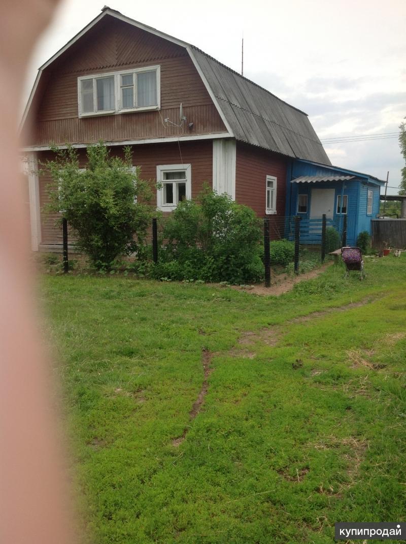 Дом 120 м2 на участке земли 4га