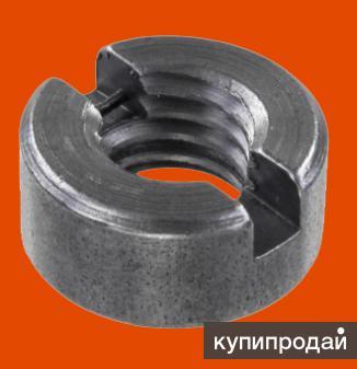 Гайка круглая со шлицем на торце ГОСТ 10657-80