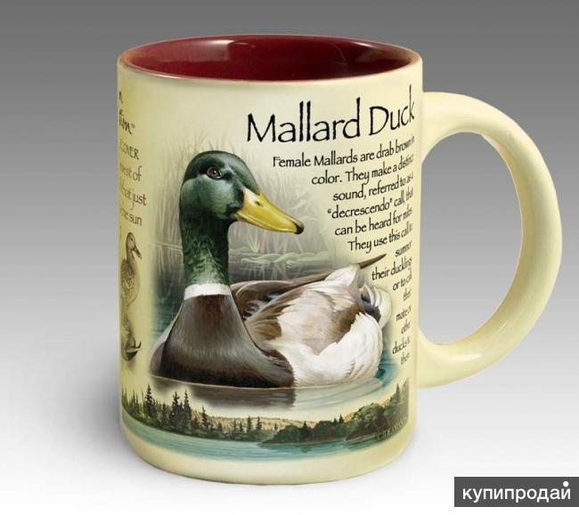 Кружка керамическая Mallard Duck (American Expedition)
