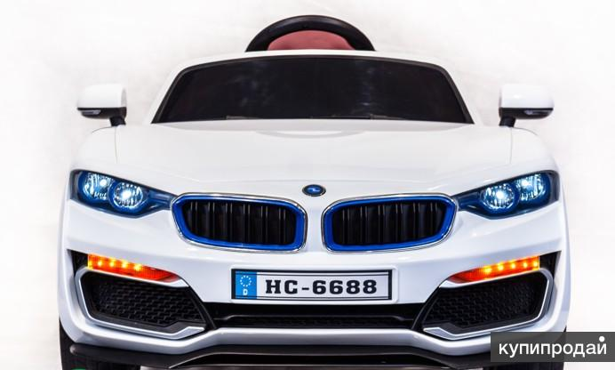 Детский электромобиль BMW HC 6688 белый