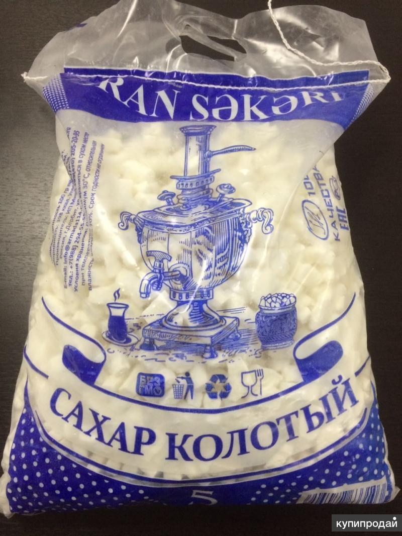 Оптом сахар кусковой колотый Иран 5 кг, 10 кг