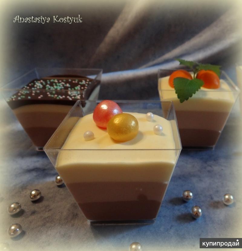 Капкейки, десерты и торты в Ногинске, Электростали, Купавне