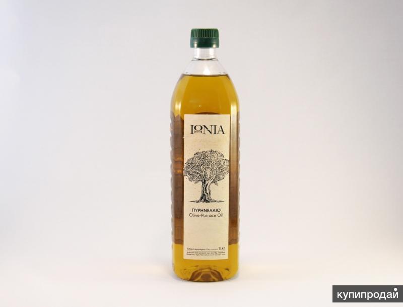 Рафинированное оливковое масло 1л IONIA - Greece -