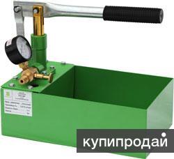 Насос для опрессовки ручной 25 атм.