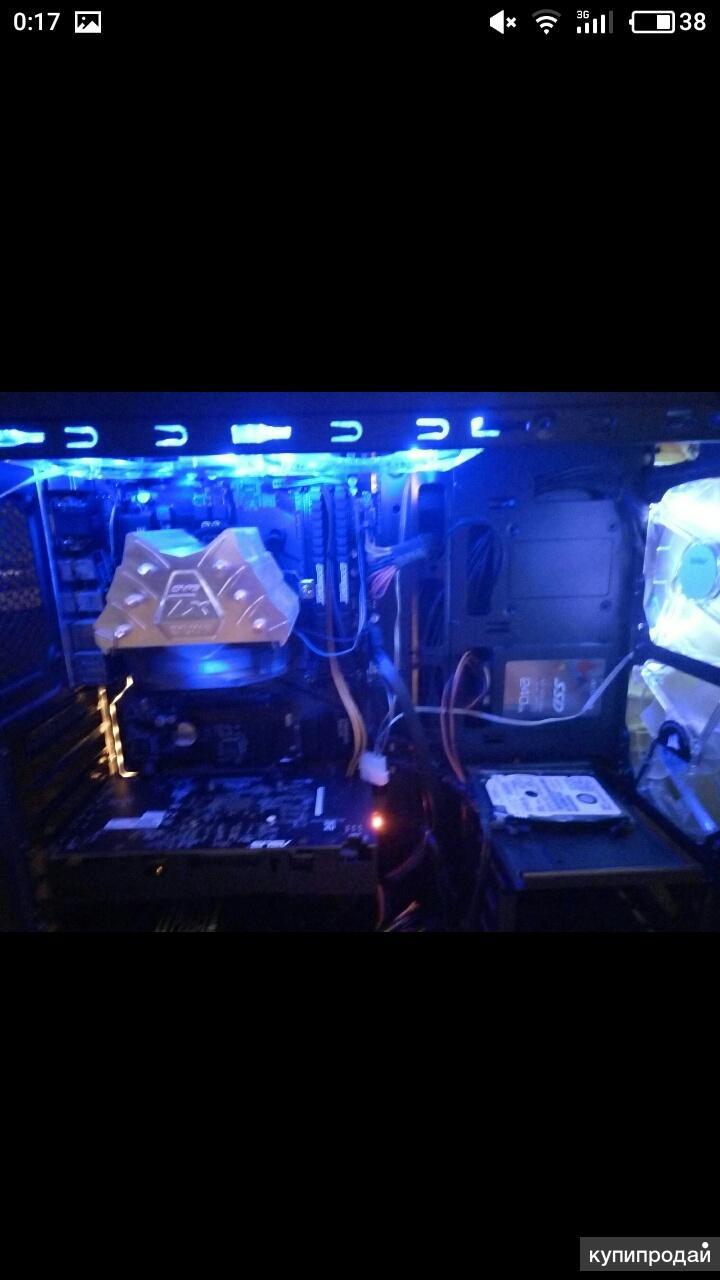 Игровой пк. G4600/1050ti/8gb