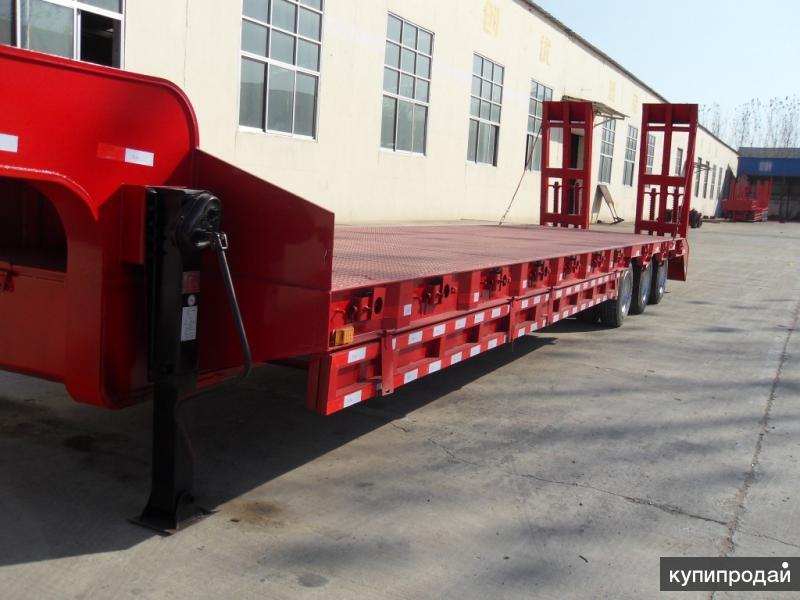 Продам низкорамный трал 50 тонн  3 оси;