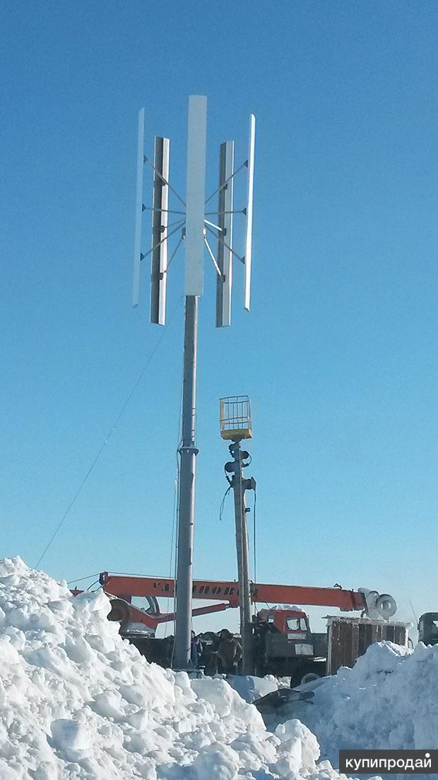 Ветрогенератор вертикальный 1 квт