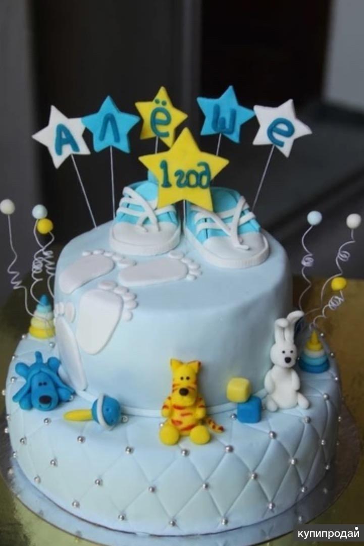 фото детских тортов из мастики.