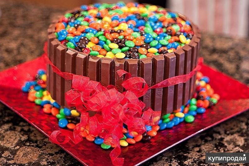 Как украсить торт к дню рождения ребенка своими руками