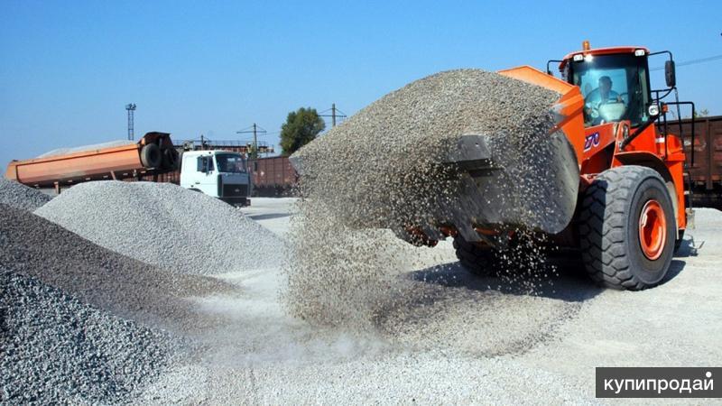 Песок строительный , гравий с доставкой в ижевске