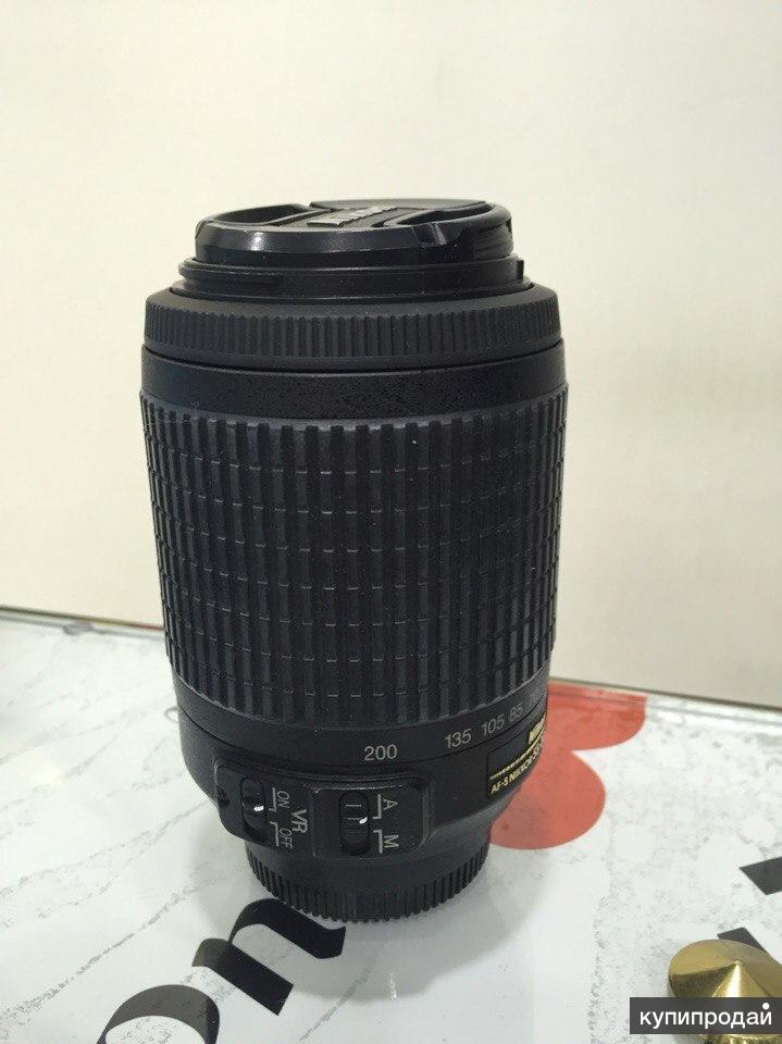 Объектив Nikon AF-S 55-200mm F4.0-5.6 G IF-ED VR2