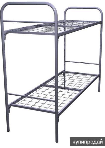 Кровати двухъярусные в хостел и общежитие, кровати для санатория и гостиницы