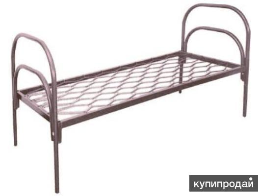 Одноярусные металлические кровати для гостиницы и санатория, кровати для пансион
