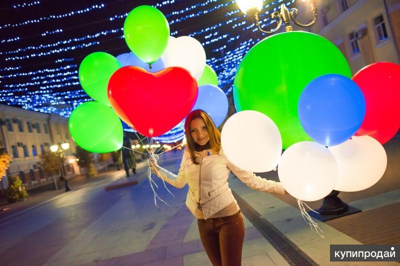 Воздушные светящиеся шары