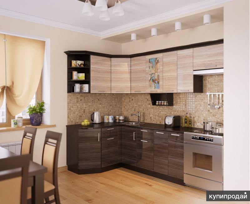 Кухня ВЕНЕЦИЯ-1 Угловая, правая - левая