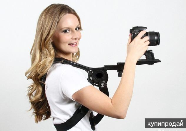 FJSP-1V Складной, компактный плечевой упор для фотокамеры, фотоаппарата.