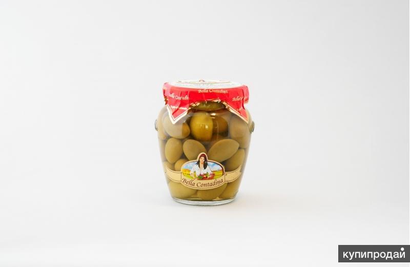 Оливки Белла Ди Чериньола 70/90 - 314 мл ITALY