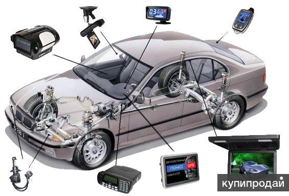 Установка оборудования,услуги автоэлектрика