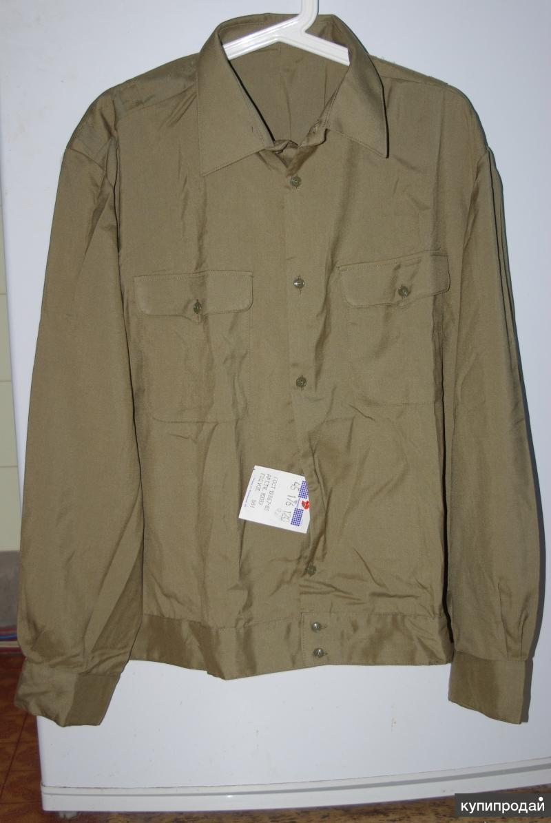 Офицерская рубашка советского образца НОВАЯ