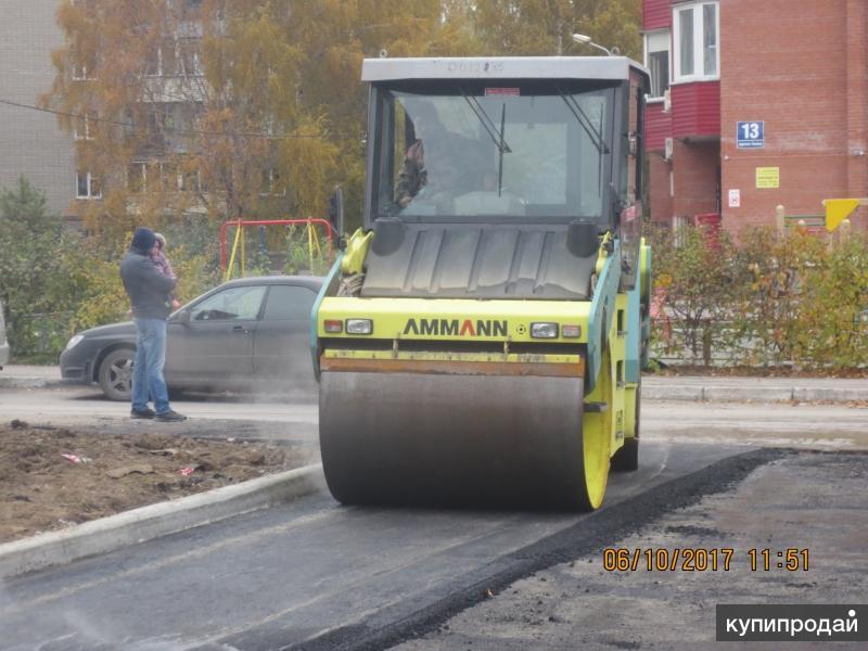 Благоустройство, строительство дорог