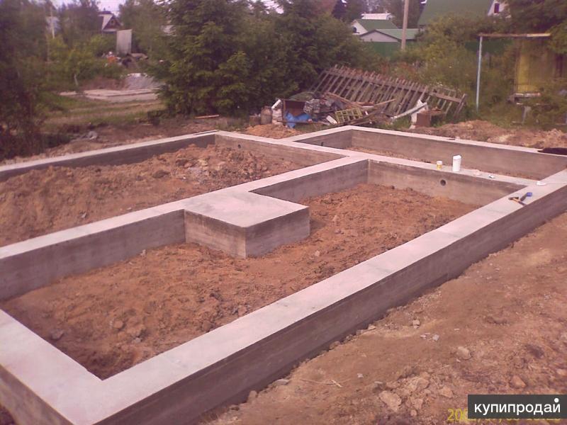 Строительство фундаментов под клююч