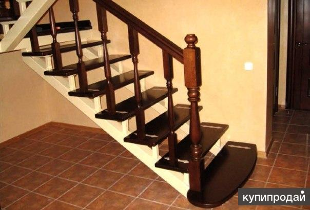 Покраска лестницы своими руками в доме