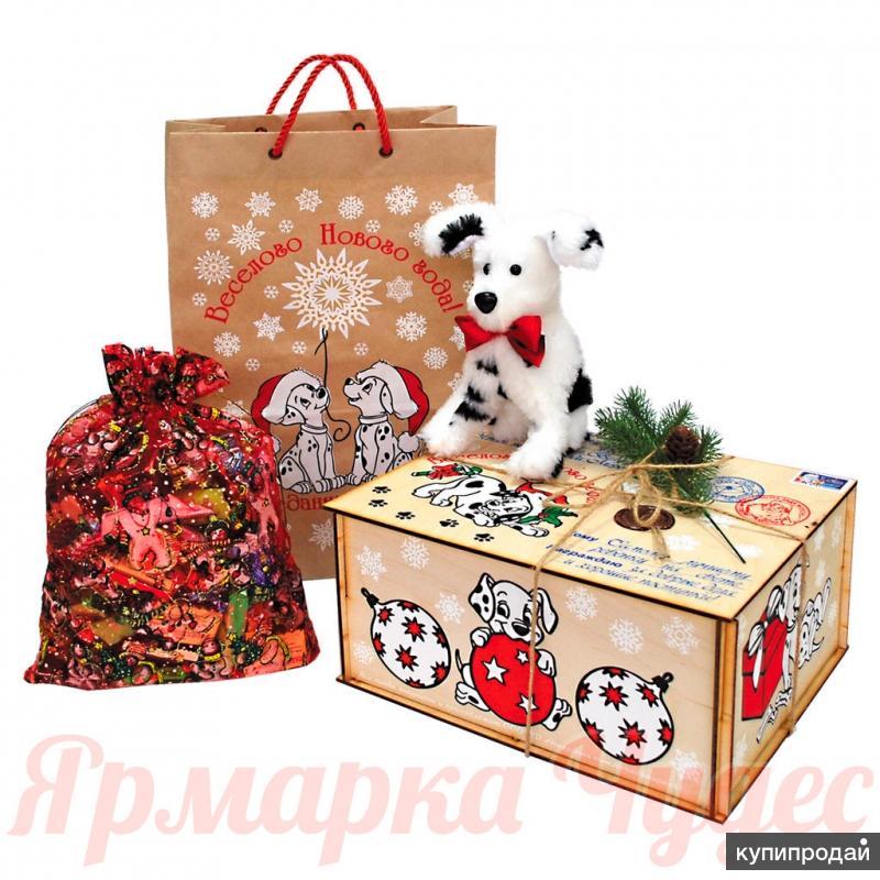 Сладкие Новогодние подарки конфет!