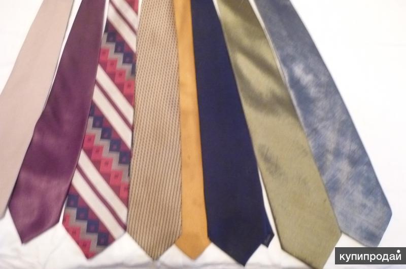 галстуки мужские б/у