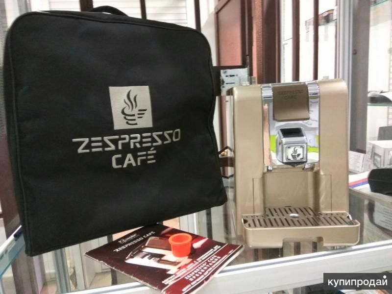 """Капсульная кофеварка Zepter """"Zespresso cafe"""" type 41064."""