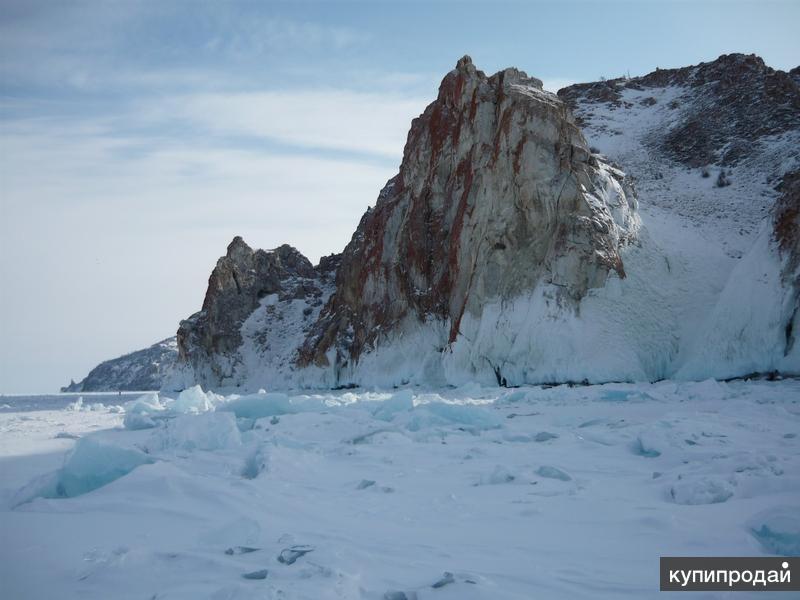 Зимний тур на Байкал: Ольхон - ледовые гроты