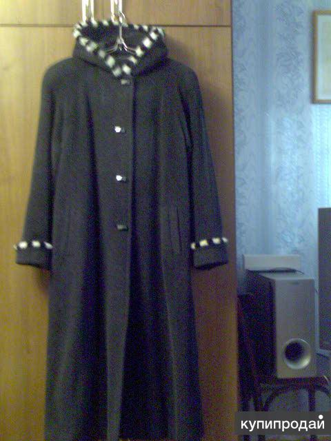 Продам пальто с норкой
