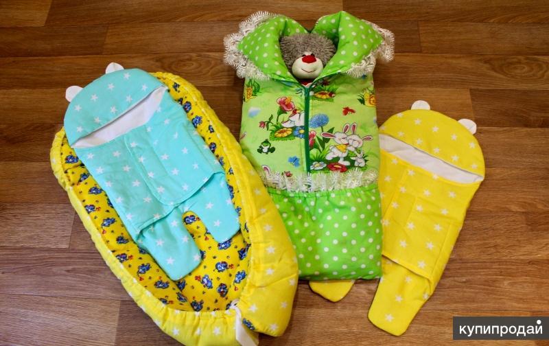 комплекты в кровать для новорождённых и многое другое