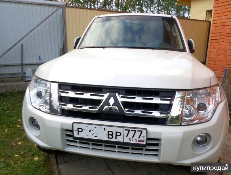 Продам Mitsubishi Pajero IV состояние новой машины